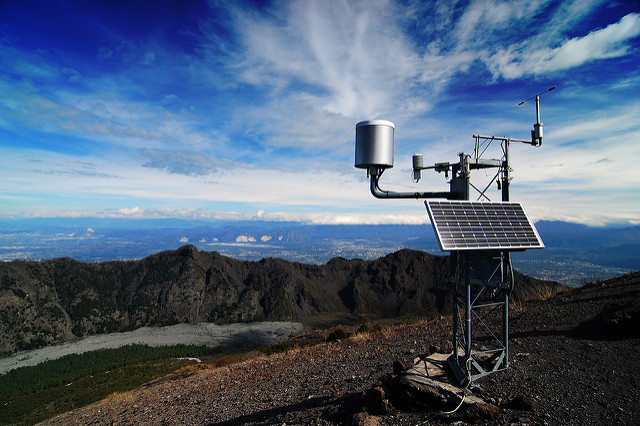 Weather Station on a mountain